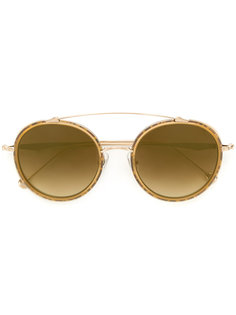 round gradient sunglasses Matsuda