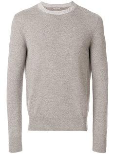 свитер с контрастным вырезом Bottega Veneta