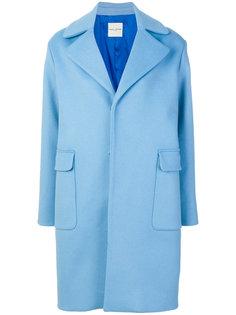пальто с вышитым логотипом  Each X Other