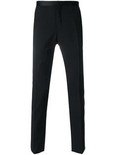 брюки с атласным поясом Lanvin