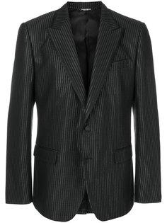 пиджак с отделкой металлик Dolce & Gabbana