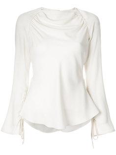 draped peplum blouse Marni
