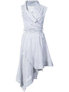 полосатое платье Marlene Acler