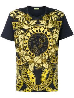 футболка с барочным принтом Versace Jeans