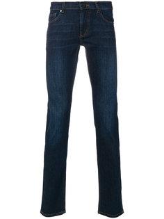 джинсы с вышивкой логотипа Versace Jeans