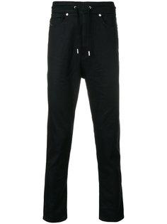 брюки средней посадки Diesel Black Gold