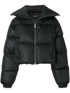 куртка-пуховик с нашивкой Misbhv
