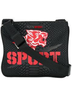 маленькая сумка-почтальонка с принтом Plein Sport