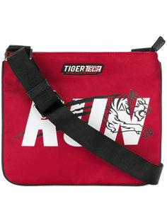 сумка-почтальонка с принтом Plein Sport