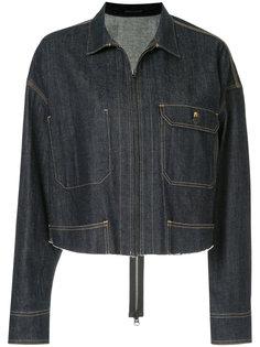 укороченная джинсовая куртка  Yohji Yamamoto
