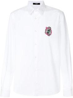 рубашка с вышивкой логотипа Versus