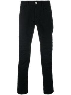 джинсы в байкерском стиле Versus