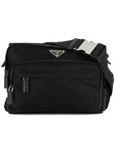 сумка-сэтчел с логотипом Prada