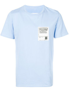 футболка с нашивкой Maison Margiela