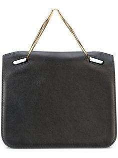 сумка с круглыми ручками Roksanda