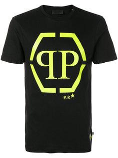 футболка с принтом логотипа Philipp Plein