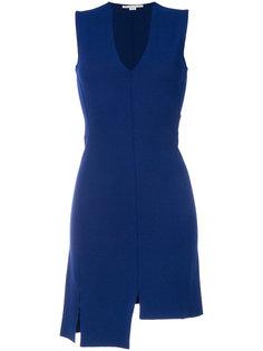 асимметричное платье с глубоким вырезом Stella McCartney