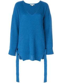 трикотажный свитер свободного кроя Stella McCartney
