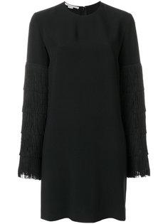 платье-свитер с бахромой на рукавах Stella McCartney