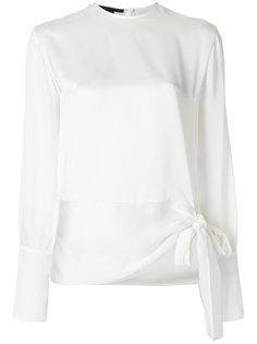 блузка с завязками на подоле Stella McCartney
