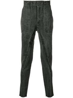 брюки с панелями из джерси The Viridi-Anne