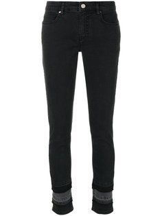 panelled denim trousers Victoria Victoria Beckham