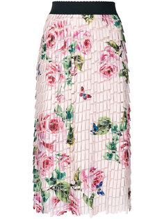 printed collage skirt Dolce & Gabbana