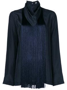 блузка с бахромой Nina Ricci
