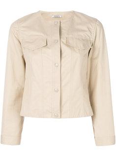 пиджак без воротника Nina Ricci