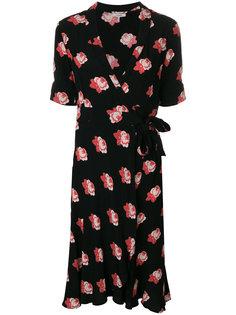 платье с цветочным узором Harley Ganni