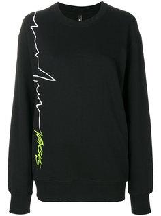 signature logo sweatshirt  Versus