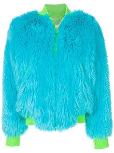 куртка в стиле оверсайз Alberta Ferretti