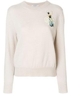 свитер с нашивкой Vivetta