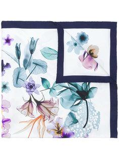 платок с цветочным принтом Salvatore Ferragamo