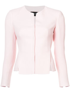 fitted split hem jacket Akris