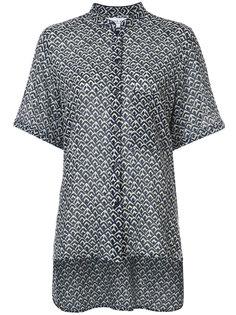 блузка с воротником-стойкой Apiece Apart