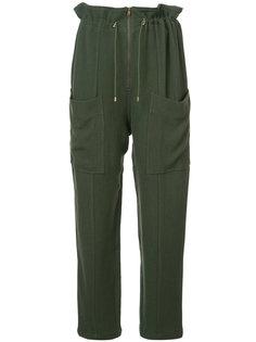 брюки с эластичным поясом Apiece Apart