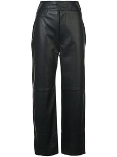 широкие брюки с завышенной талией  Apiece Apart
