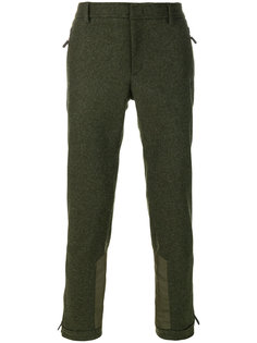прямые брюки с панельным дизайном Moncler Grenoble