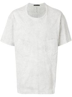 футболка с двойным карманом The Viridi-Anne