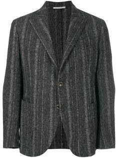 тканый пиджак в полоску Eleventy