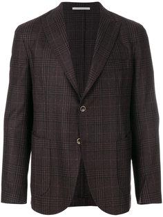 приталенный твидовый пиджак Eleventy