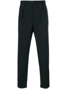 классические брюки кроя слим Prada