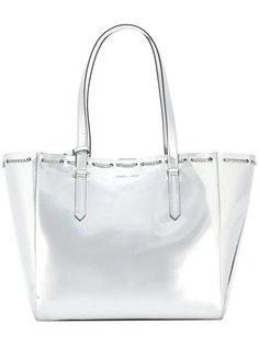 сумка-тоут с отделкой металлик Kendall+Kylie