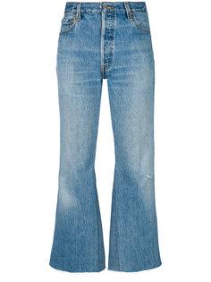 укороченные расклешенные джинсы Lea Re/Done