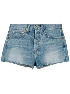 джинсовые шорты Dirty Destroy Re/Done