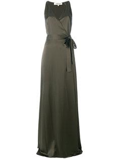 wrap front maxi dress Dvf Diane Von Furstenberg