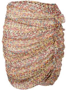 юбка с рюшами Isabel Marant Étoile