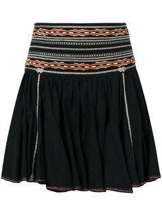 плиссированная юбка с вышивкой Isabel Marant Étoile