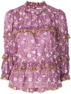 блузка Mauryn с цветочным принтом Isabel Marant Étoile